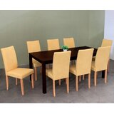Evendale 9 Piece Solid Wood Dining Set by Red Barrel Studio®