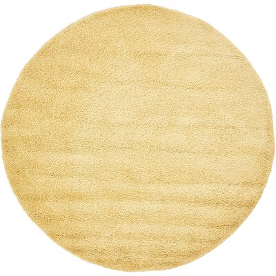 Medium Pile Yellow Amp Gold Round Rugs You Ll Love In 2019