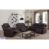 Alessandrina 3 Piece Reclining Living Room Set (Set of 3) by Red Barrel Studio®