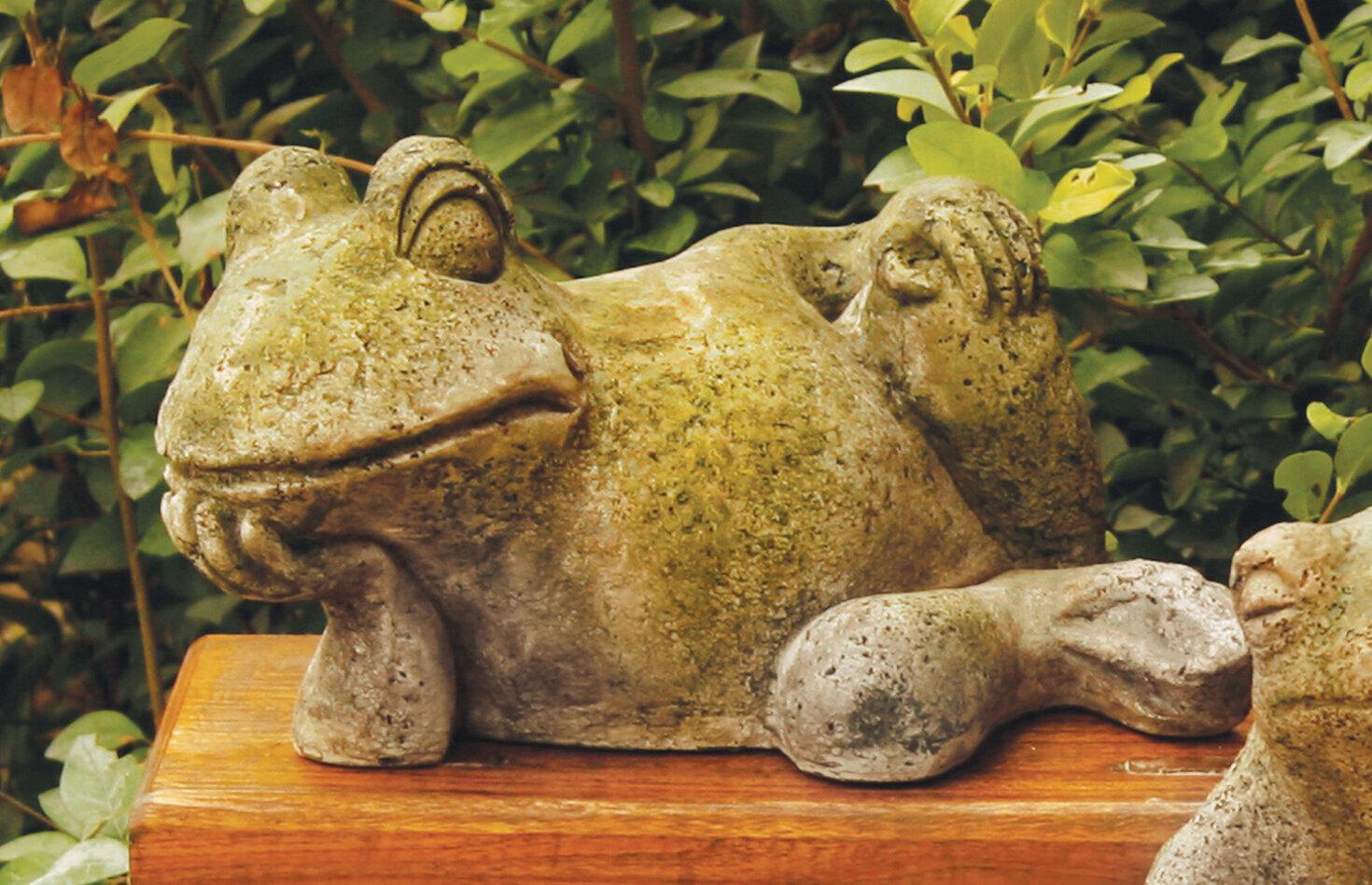 OrlandiStatuary Animals Gossip Frog Statue & Reviews | Wayfair