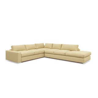 "Jackson 114""x 134"" Corner Sectional with Bumper by TrueModern SKU:CE843901 Buy"