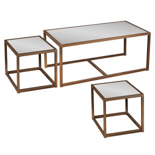 Modern Contemporary 2 Piece Nesting Coffee Tables Allmodern