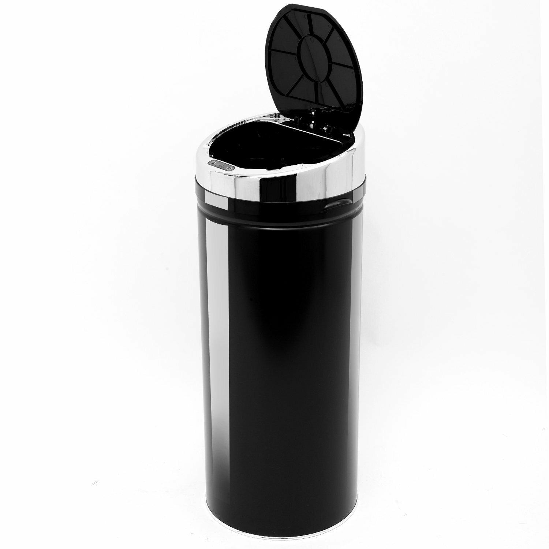 Homcom 42-Litre Luxury Automatic Sensor Dustbin Kitchen Waste Bin ...