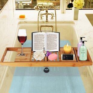 Best Bellinger Bamboo Bathtub Caddy Tray ByEbern Designs