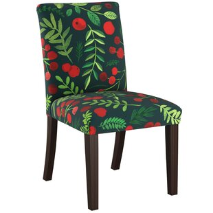 Blum Upholstered Parsons Chair by Bungalow Rose
