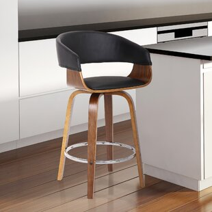 Maher 26 Swivel Bar Stool by Wrought Studio 2019 Coupon