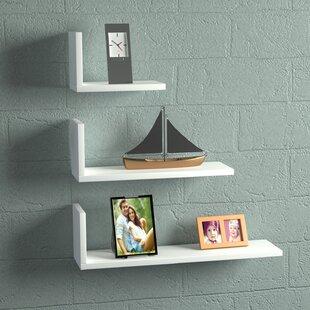 Latitude Run Hudkins Modern Floating Shelf