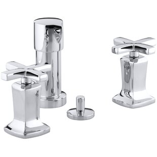 Kohler Margaux Vertical Spray Bidet Faucet with Cross Handles