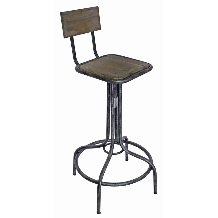 Astounding Armstead Adjustable Height Bar Stool Machost Co Dining Chair Design Ideas Machostcouk