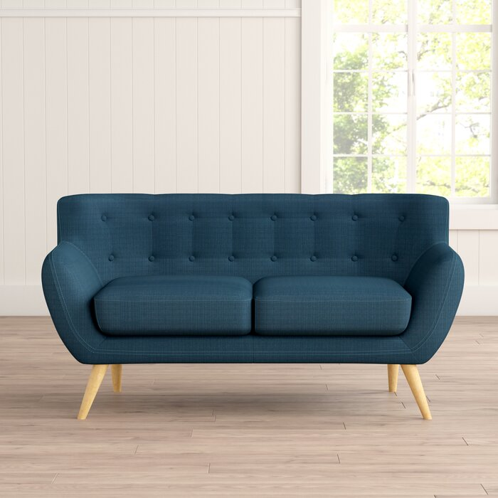 Remarkable Meggie Loveseat Ocoug Best Dining Table And Chair Ideas Images Ocougorg