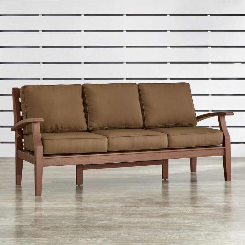Brook Hollow Sofa with Cushion & Reviews | Birch Lane
