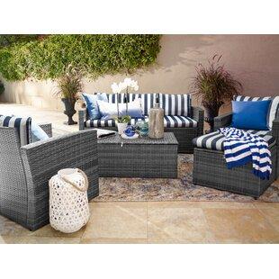 Ridgemoor 5 Piece Sofa Set with Cushions ByBreakwater Bay