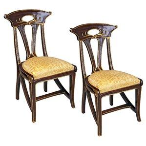 Majorelle Golden Art Nouveau Side Chair (..