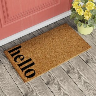 Marquis Vertical Hello Doormat by Turn On The Brights
