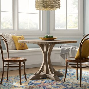 Mistana Duke Solid Wood Dining Table
