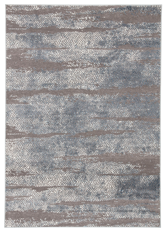 Maryjane Abstract Dark Gray Area Rug