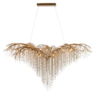 Lively 26-Light Crystal Chandelier by Ros..