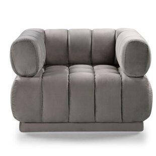 Grey Velvet Chair Wayfair
