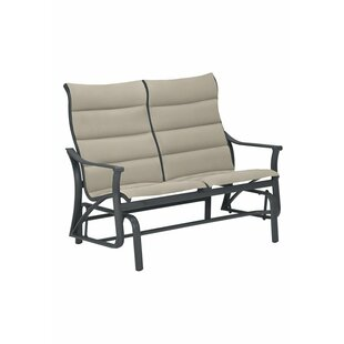 Corsica Padded Sling Loveseat by Tropitone