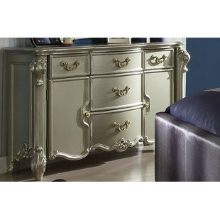 Westhoughton Traditional 5 Drawer Combo Dresser