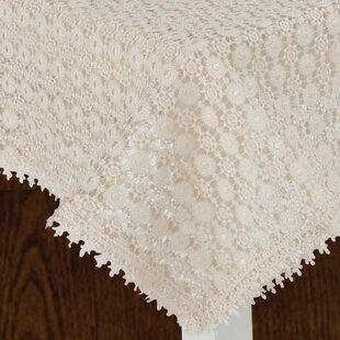 Crochet Lace Tablecloth Wayfair