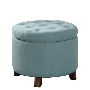Catlin Tufted Storage Ottoman by Alcott Hill