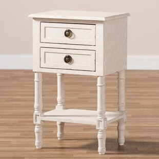 Ayden 2 Drawer Nightstand by August Grove