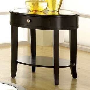 Muthanna End Table with Storage