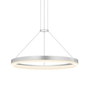 Sonneman Corona 1-Light Drum Pendant
