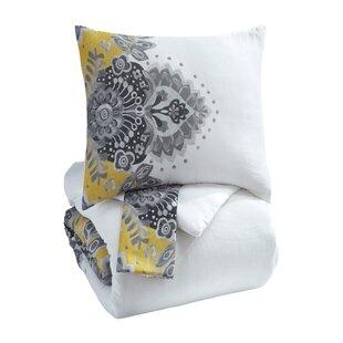 Bungalow Rose Sansbury 3 Piece Comforter Set