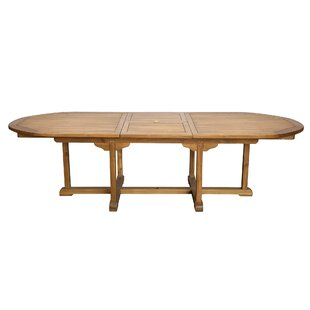 Alves Extendable Teak Dining Table