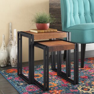 Norita 2 Piece Nesting Tables by Bungalow Rose