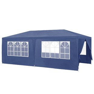 Mckinnon 6m X 3m Steel Pop-Up Party Tent By Sol 72 Outdoor