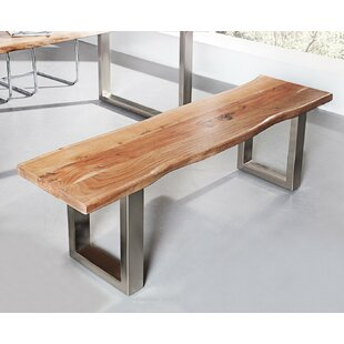 Finadeni Wood Bench By Williston Forge