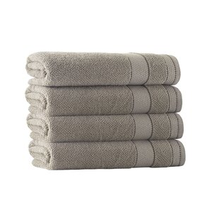 Turkish Cotton Bath Towel (Set Of 4) by Darby Home Co Herry Up