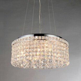 Warehouse of Tiffany Melinda 4-Light Crystal Chandelier