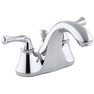 Kohler Forte Centerset Bathroom Faucet with Drain Assembly