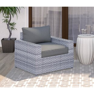 Burkley Patio Chair with Cushions
