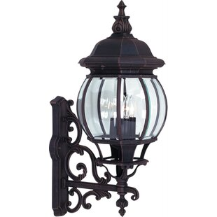 Inexpensive Butler 4-Light Outdoor Sconce By Fleur De Lis Living