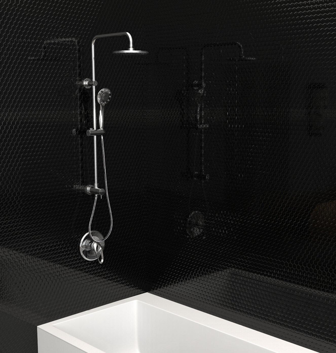 Keeney Manufacturing Company Retrofit Shower Faucet Diverter Complete Shower System Reviews Wayfair