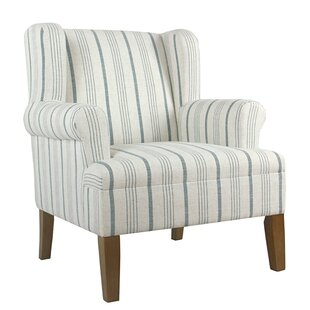 Vinson Fabric Upholstered Wooden Side Chair by Rosecliff Heights