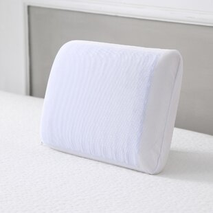 Reversible Travel Gel and Memory Foam Pillow