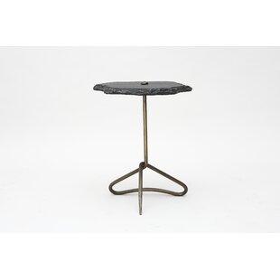 Brayden Studio Kolar Iron End Table