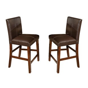 Great Price Whisenhunt 24 Bar Stool (Set of 2) by Millwood Pines Reviews (2019) & Buyer's Guide