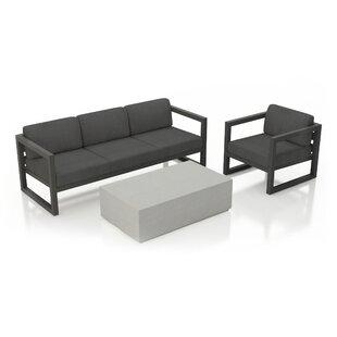 Remi 3 Piece Sofa Seating ..