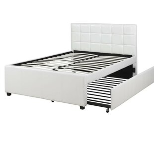 Shekhar Wooden Full Upholstered Panel Bed by Orren Ellis Discount