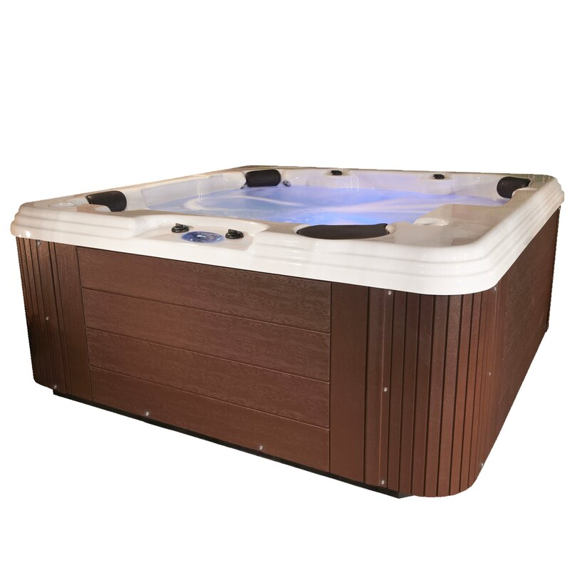 EssentialSpas Endeavor 6-Person 100 Jet Spa & Reviews | Wayfair