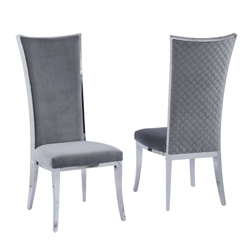 Orren Ellis Attleborough Upholstered Dining Chair Wayfair