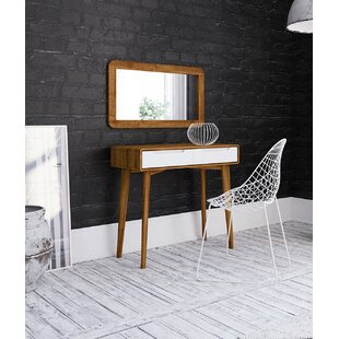 Yasmine Dressing Table With Mirror By Isabelline