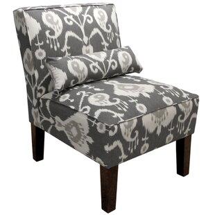 Cadence Ikat Slipper Chair by Ivy Bronx